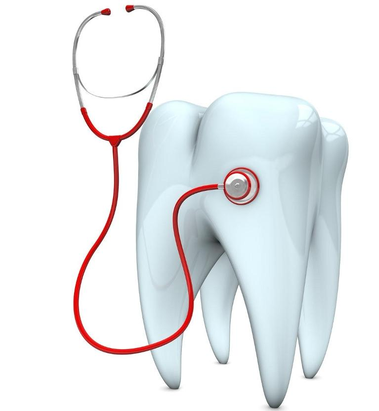 Illustrated tooth with stethoscope | Royal Palm Beach FL Dentist